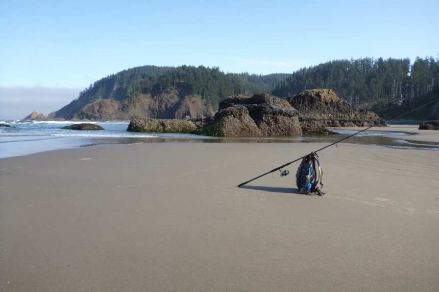 Low Tide in the Surf Zone