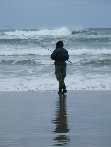 Sampling the surf zone