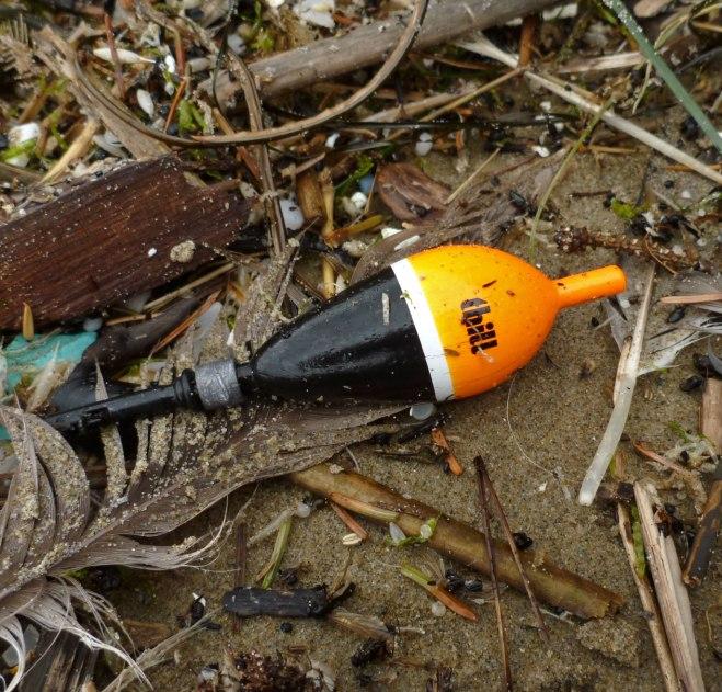 Thill float, lost steelhead gear.