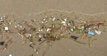 Plastic bits in the driftline