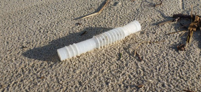 flexible plastic tube