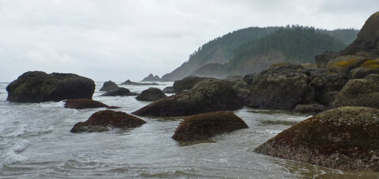 Rocky headlands, Oregon coast