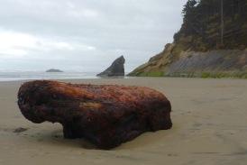 A hefty drift log