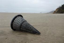 Hagfish trap funnel | April