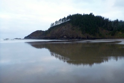 Headland, in the mirror   May
