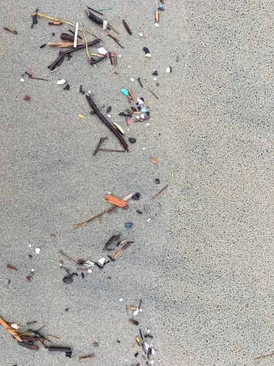 Plastic in the drift line