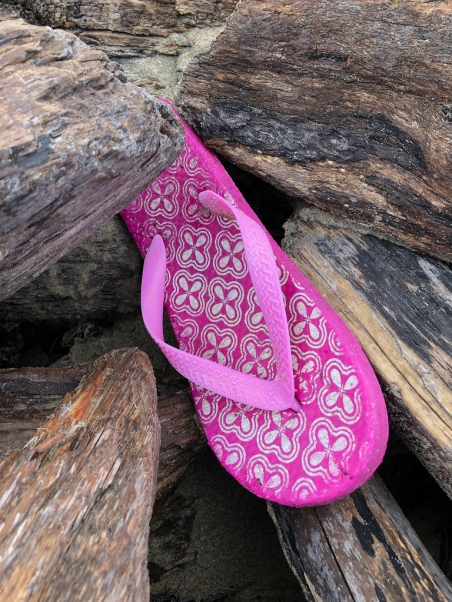 Magenta sandal